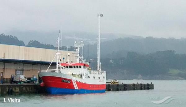 Muere un marinero que fue evacuado con síntomas compatibles con covid de un barco que está en cuarentena en Viveiro