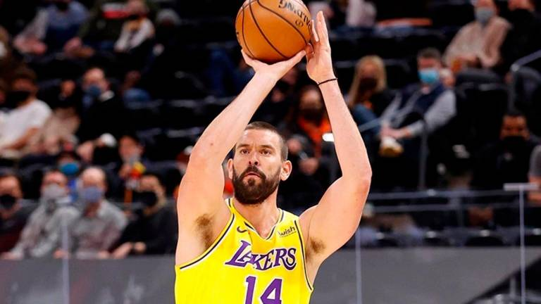 Marc Gasol (Lakers). FOTO: LOS ANGELES LAKERS