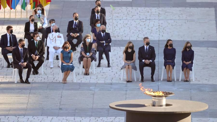 Homenaje de Estado a las víctimas del coronavirus
