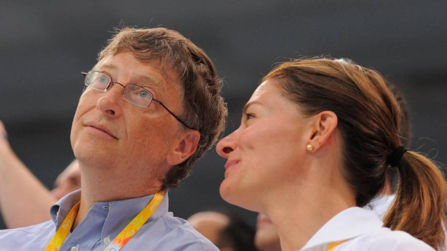 La ya expareja, Bill y Melinda Gates. Foto: Europa Press